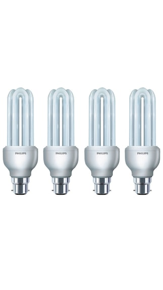 27-W-3U-CFL-Bulb-(White,-Pack-of-4)