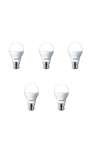 7W-Plastic-LED-Bulb-(White,-Pack-of-5)