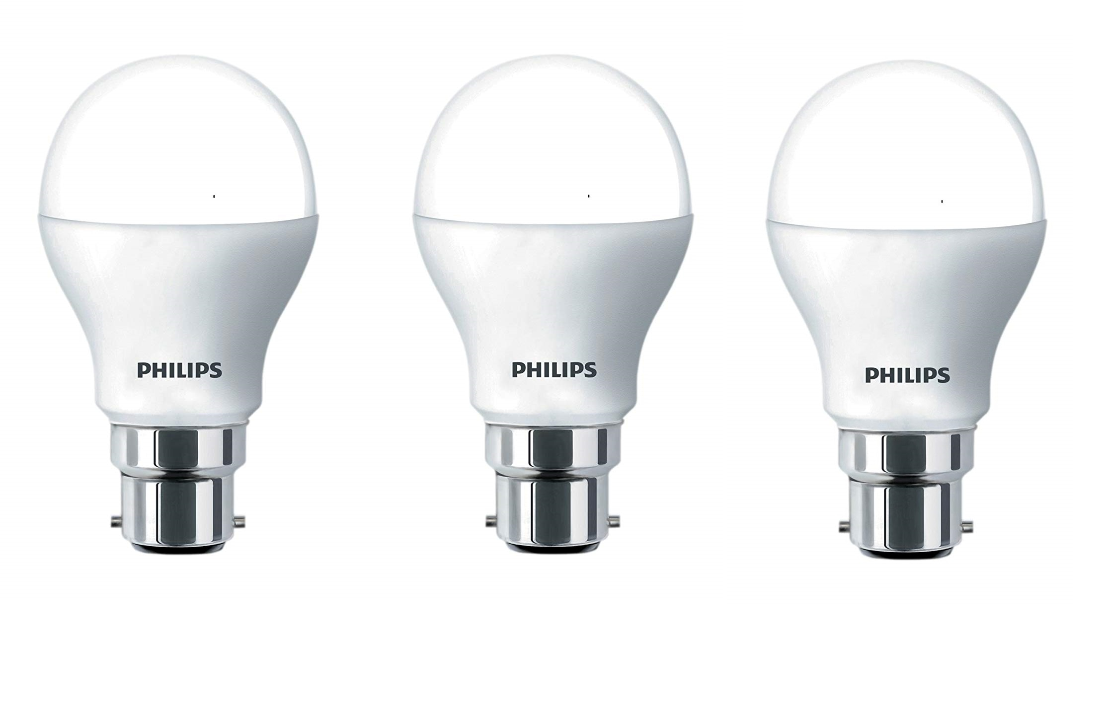 Philips 9 Watt B22 Pin Type LED Bulb Cool Daylight ( Pack Of 3 )