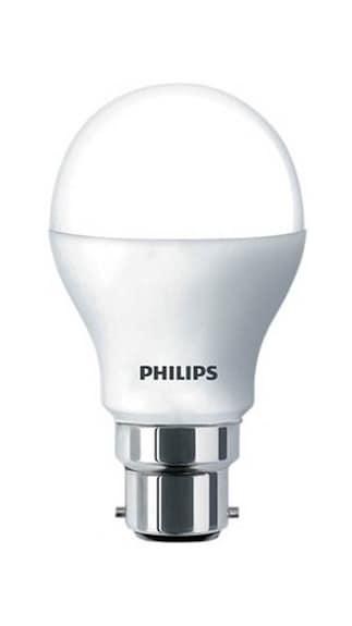 7W B22 Glass LED Bulb (White)