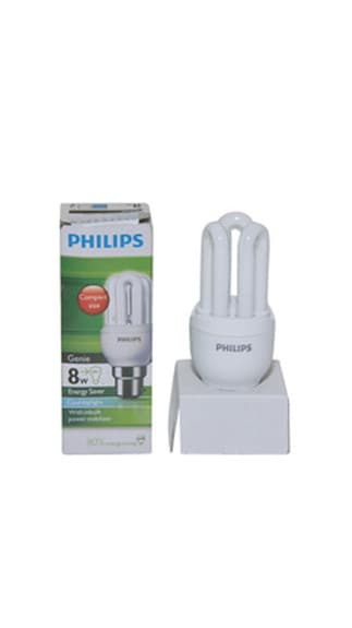 Genie-8-Watt-CFL-Bulb-(Cool-Day-Light)