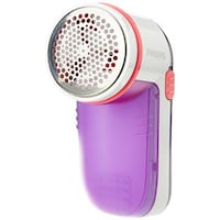 Philips GC026/30 Fabric Shaver (White & Purple)