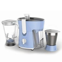 Philips HL7575/00 600 W Juicer Mixer Grinder (Blue & White) 2 Jars
