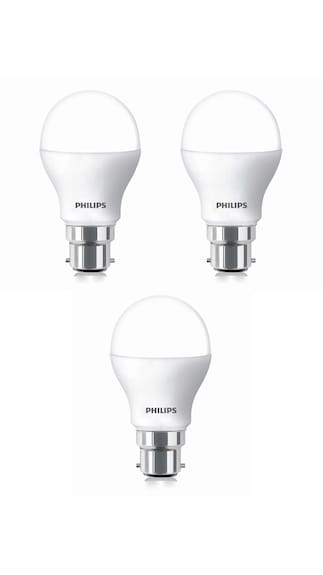 Philips-2.7W-B22-LED-Bulb-(White,-Pack-Of-3)