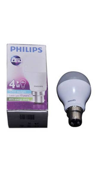 4W LED Bulbs (Cool White, Pack Of 4)