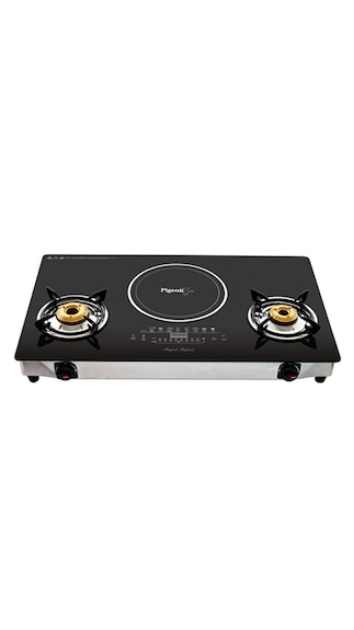 Pigeon-Rapido-Aspira-2-Burner-Gas-Cooktop-(With-Hybrid-Induction-Cooktop)