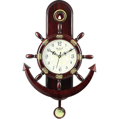 Plaza Anchor Look Pendulum Wall Clock