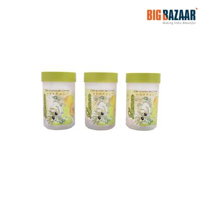 Polyset (FS 699) Abstract Lemon Olive Container Set 3 Pcs