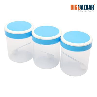 Polyset Ringo 3 Pcs Storage Container Set (Blue)