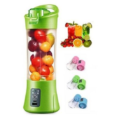 Portable USB Rechargeable Blender Juicer 1 Jar (Color As per Availability)
