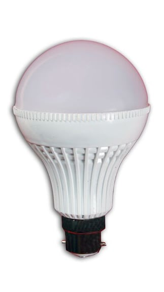 9W B22 LED Bulb (Warm White, Pack of 9)
