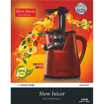 Premsons Slow Juicer Demo : Premsons Slow Juicer The Original 150 W Juicer Red available at Paytm for Rs.5995