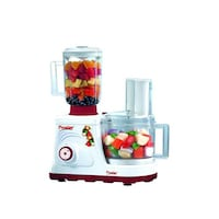 Prestige Champion 600 W Food Processor (White & Red)