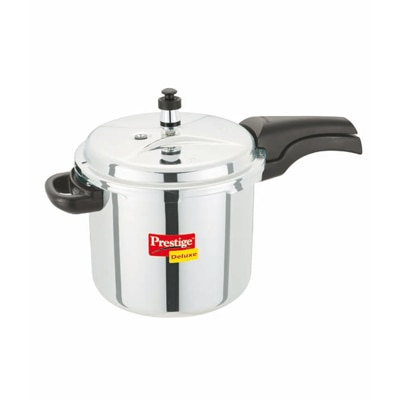 Prestige Stainless Steel Cooker 5.5L Induction Based