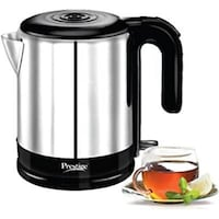 Prestige PKMSS 1.2 Liters 1500-Watt Electric Kettle (Silver)