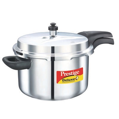 Prestige Stainless Steel Cooker 6.5L Induction Based