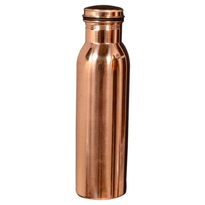 Pure copper Jointless bottle
