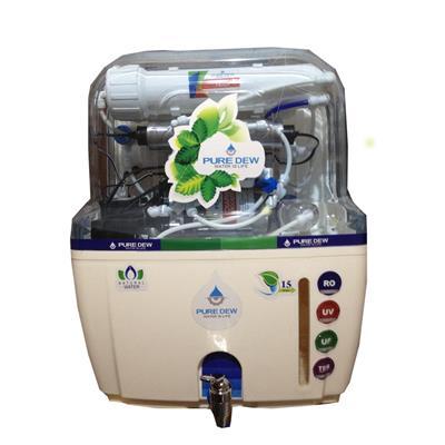 PURE DEW swift 15 L RO Water Purifier (White)