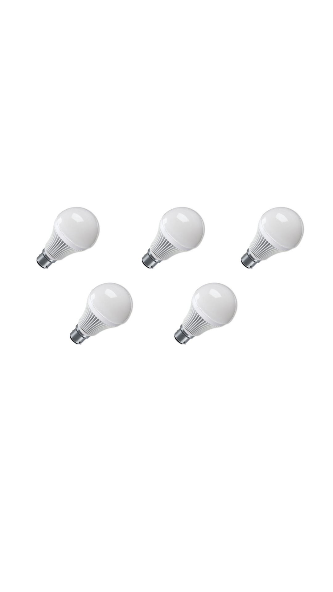 High-Quality-15W-LED-Bulb-(Pack-Of-5)