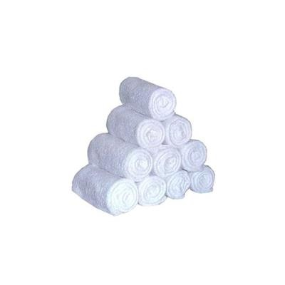Rehoboth Cotton White Face Towels - Pack Of 10