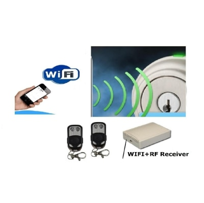 Remote Kit-Cum Mobile Wifi Cloud Kit-For Electromagnetic Door Locks By...
