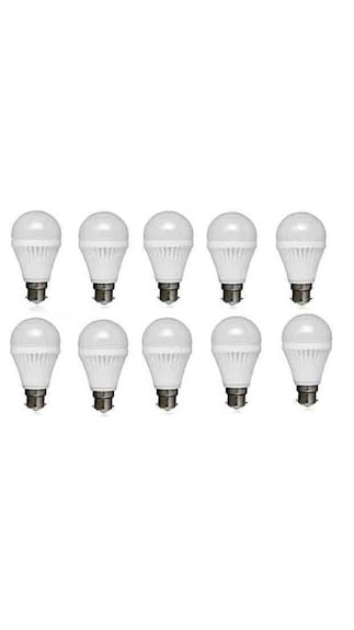 12W-PVC-LED-Bulb-(White,-Pack-Of-10)
