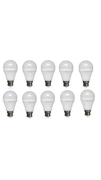 Kalash-12W-PVC-LED-Bulb-(White,-Pack-Of-10)