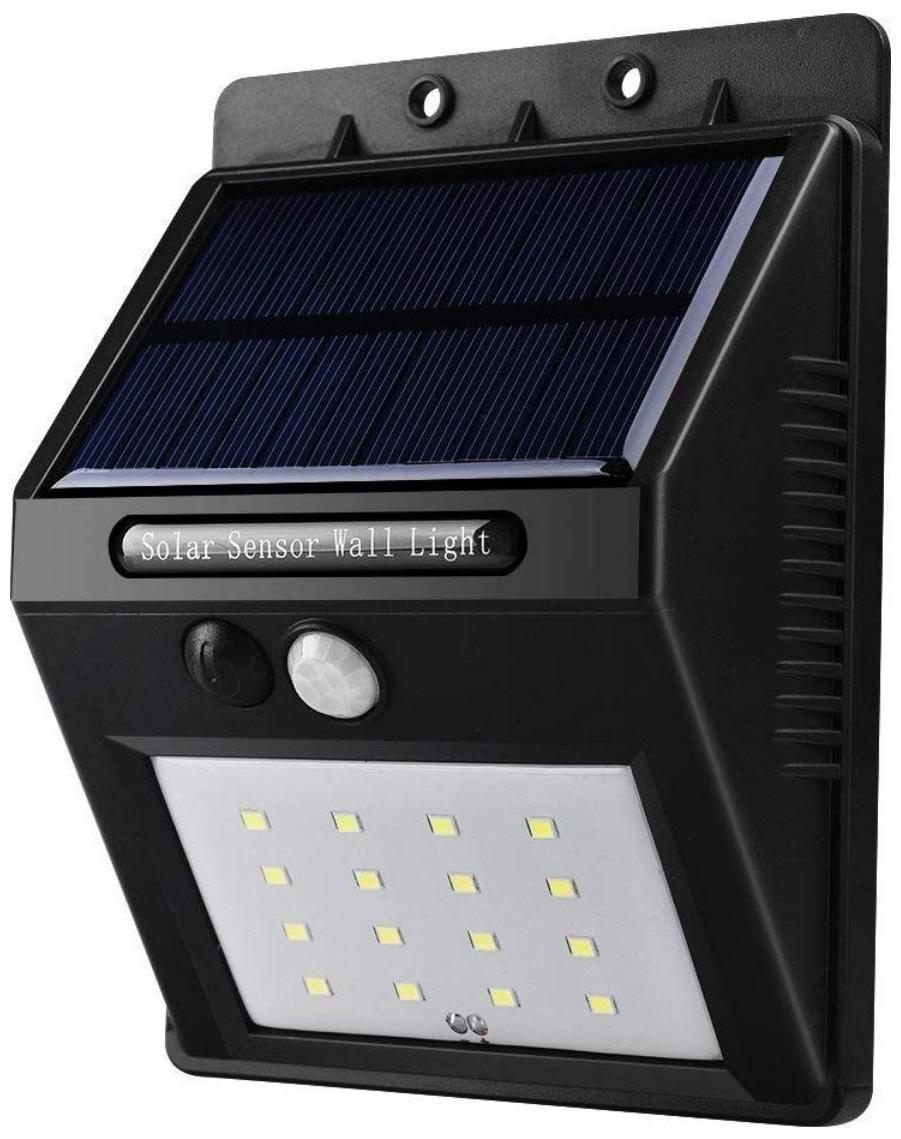 Shrines 16 LED Outdoor Security Lights Motion Sensor Wall Lights