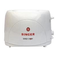 Singer PT-22 2 Slice Pop Up Toaster (White)