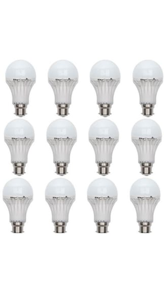 3W-B22-LED-Bulb-(White,-Pack-Of-12)