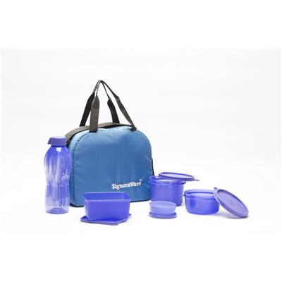 Sling Lunch Box with BLUE bag