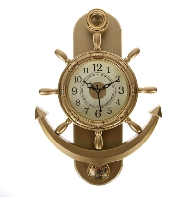 Smile2u Retailers anchor designer analog wall clock