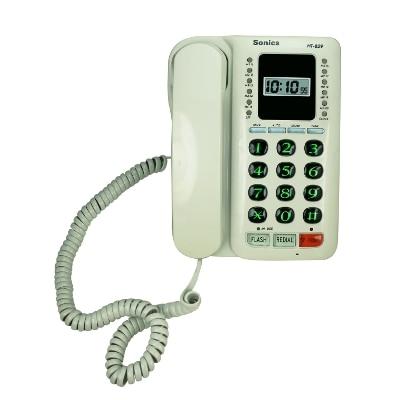 Sonics 20 Memory Two Way Speaker Phone with Clock