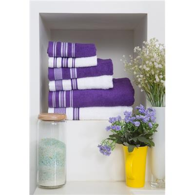 SPACES Bath Carnival 6 Pc Cotton Towel Set