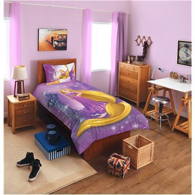 SPACES Disney Rapunzel Lavender Cotton