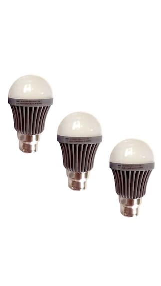 3W-B22-LED-Bulb-(White,-Pack-Of-3)