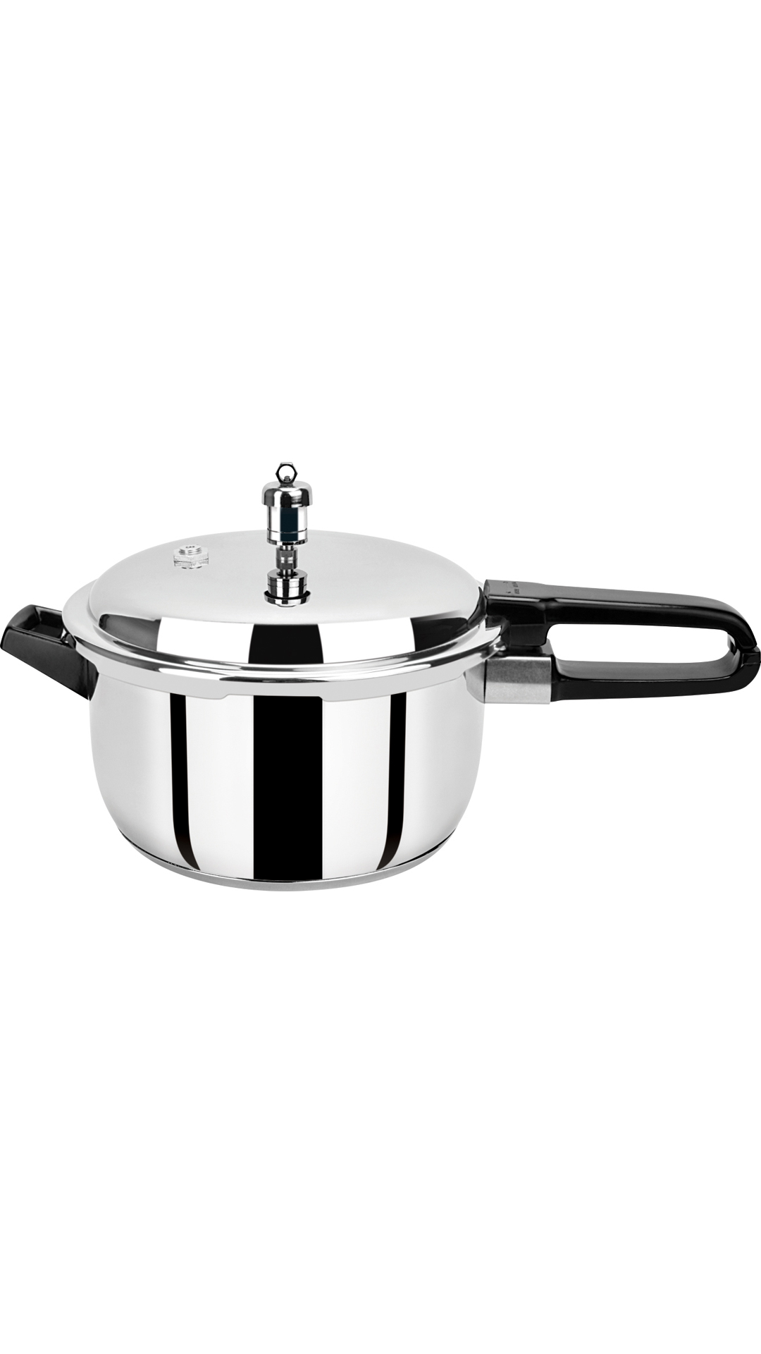 Pristine Induction Base Stainless Steel Pressure Cooker, 3Ltr