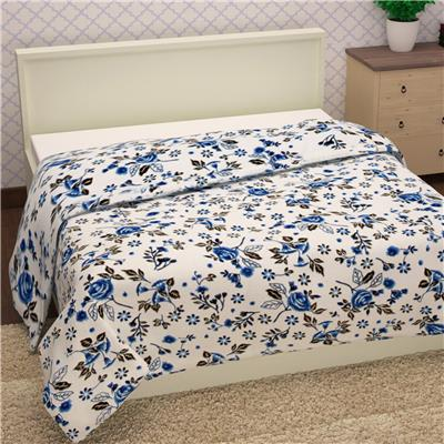 Story@Home 100% Cotton Twilled Flannel 1 Single Topsheet
