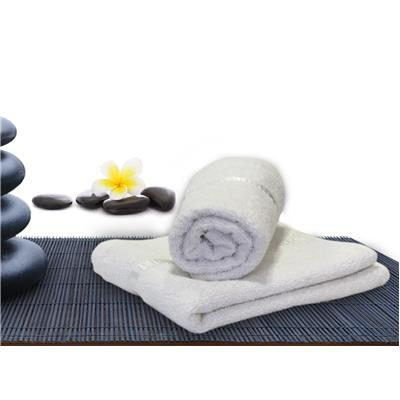 Story@Home White Cotton 2 Pcs  Hand Towel