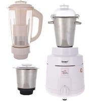 Sunmeet MG16-142 1400 W Juicer Mixer Grinder (White/3 Jars)