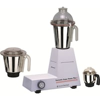 Sunmeet MG16-140 1000 W Juicer Mixer Grinder (White/3 Jars)