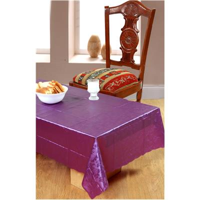 Surhome 4 Seater Thin Plastic Table Cover 135x85 cm