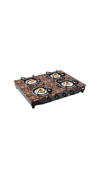 Surya-Flame-Coffee-Beans-SFCB-GL-0134B-Gas-Cooktop-(4-Burner)