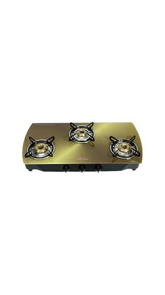 Flame-Copper-SFCP-GL-0353B-Gas-Cooktop-(3-Burner-)