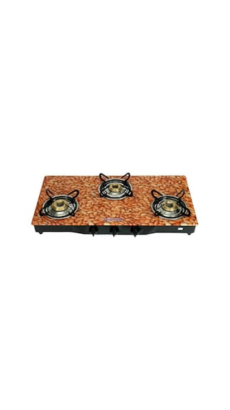 Flame-Almond-SFAL-GL-1233B-Gas-Cooktop-(3-Burner)