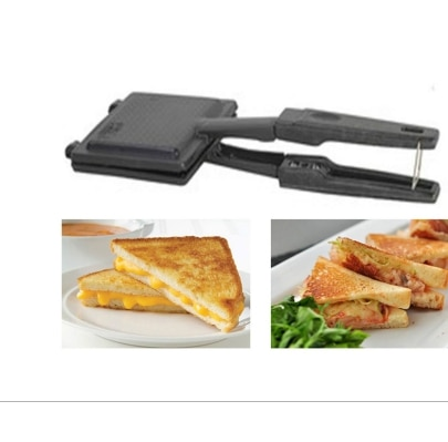 Indo Surya Special Gas Toaster Small Sandwich Maker Non Electric Non Stick Coating