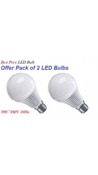 10W-B22-LED-Bulb-(White,-Set-Of-2)