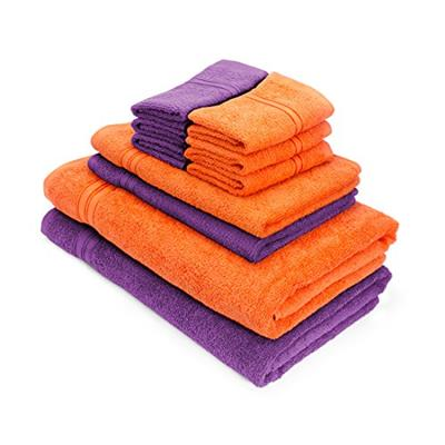 Swiss Republic Towels Set- Essential Plus collection 480 GSM made with 100% ring spun extra soft cotton
