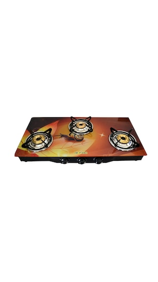 Leaf-3-Burner-Auto-Ignition-Gas-Cooktop
