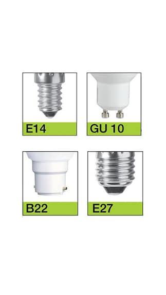 Glass 5 Watt CFL Bulb (Pearl White, 5 Pcs)